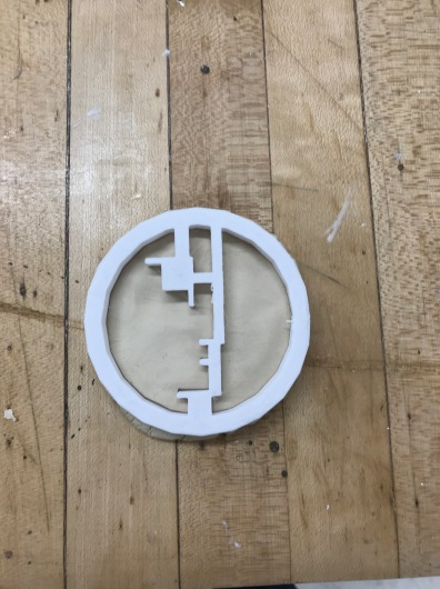 Cookie cutter ft. Bauhaus Logo!